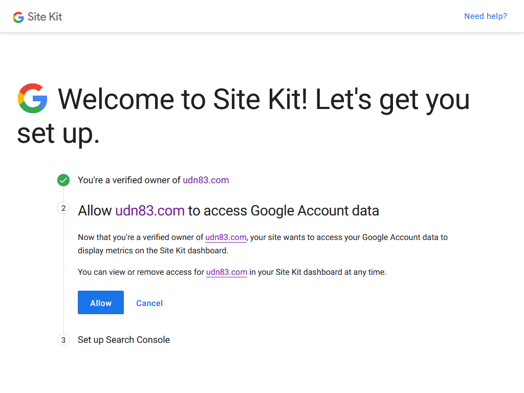 Site Kit